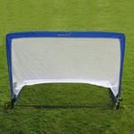 Samba Elite Pop Up Goal 4ft Square - 1 Pair - White/Blue