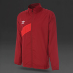 Umbro Shower Jacket - Biking Red/Vermillion
