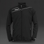Uhlsport Stream 3 Presentation Jacket - Black/White