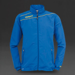 Uhlsport Stream 3 Presentation Jacket - Azure Blue/Corn Yellow