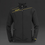 Uhlsport Stream 3 Presentation Jacket - Black/Corn Yellow