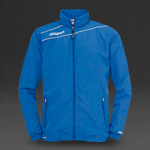 Uhlsport Stream 3 Presentation Jacket - Azure Blue/White