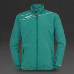 Uhlsport Stream 3 Presentation Jacket - Lagoon Green/White