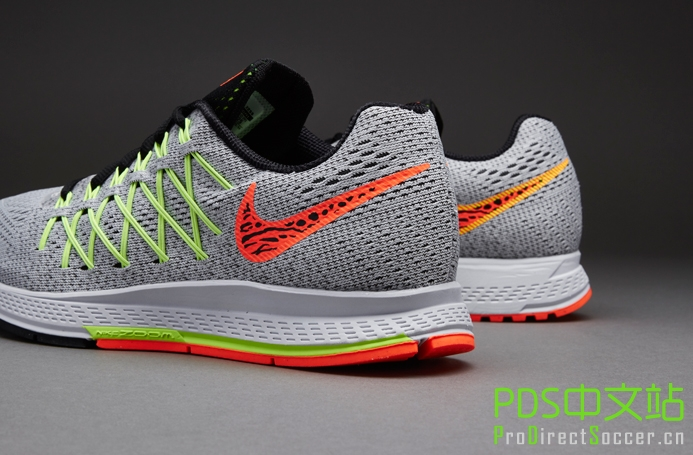 Nike Wmns Air Zoom Pegasus 32 - Pure Platinum/Hyper Orange/Volt ...