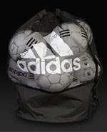 adidas Football Signature Ball Net - Black/White