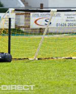 Diamond Mini Soccer Goal 8ft x 4ft - White