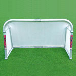 Samba Aluminium Folding Goal 5x3 - Silver