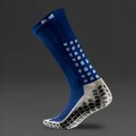 Trusox Mid-Calf Cushion Crew Socks 2.0 - Blue/White