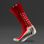 Trusox Mid-Calf Cushion Crew Socks 2.0 - Red/White