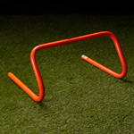 "Diamond Pro 9"" Training Speed Hurdle - Orange."