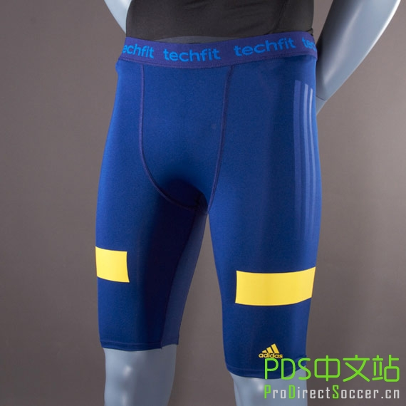 wholesale dealer 10afe c3a6b ... get adidas techfit nitrocharge shorts night blue 13d48 7d662