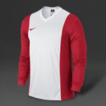 Nike Park Derby L/S Football Shirt - White/Red