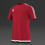 adidas Tiro 15 Training Jersey - Power Red/White/Black