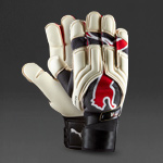 Puma V1.08 Gloves - White/Dark Shadow/Red